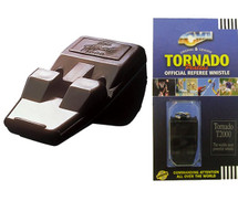 Black Tornado Referee Whistle
