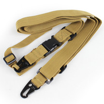 THREE POINTS SLING IN TAN