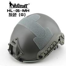 Wo Sport FAST Helmet-MH Type in Grey