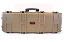 Nuprol Large Hard Case with Wheels in Tan
