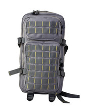 Small Assault Backpack Rucksack 28 Litre in Grey and Yellow
