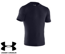 Under Armour Charge Cotton Navy T-Shirt