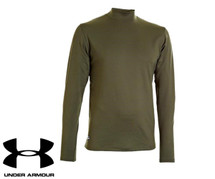 Under Armour Coldgear Infrared Mock Olive Green