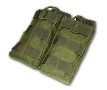 MOLLE Double Open Ammo Pouch Olive Green