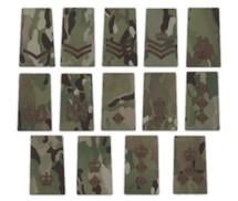Rank Slides in UK/Desert DPM/Multicam