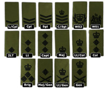 Rank Slides Royal Marines