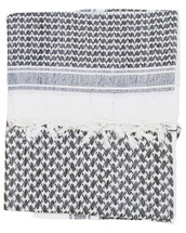 Shemagh Keffiyeh Arab Scarf in Black & white