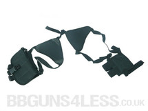 Kombat Low Cost Shoulder Holster In Black