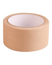 Kombat Fabric Tape in Tan 8mt x 50mm