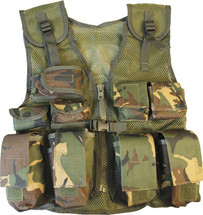 KIDS TACTICAL ASSAULT VEST IN DPM CAMO