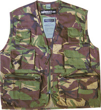KIDS TACTICAL VEST IN DPM CAMO