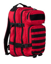 Kombat Small 28 Litre Assault Pack in red and black
