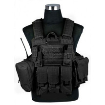 SWISS ARMS CIRAS TACTICAL VEST IN BLACK