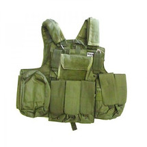 SWISS ARMS CIRAS TACTICAL VEST IN GREEN
