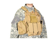 SWISS ARMS CIRAS TACTICAL VEST IN TAN