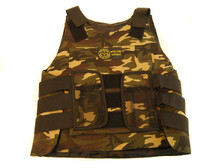 KIDS WELL FIRE TACTICAL VEST IN CAMO