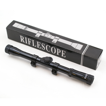 Anglo Arms 4x20 Rifle Scope For Airsoft Guns In Black
