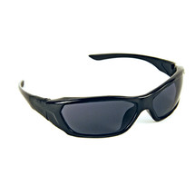 Forceflex Safety Glasses3020 Black Frame Smoke Hc Lens Uv400