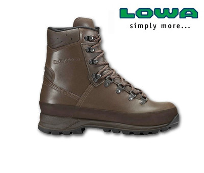 LOWA Patrol Boot Brown