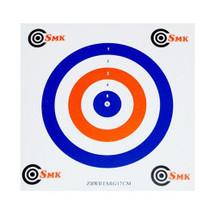 SMK All rounder 100pc Coloured Card Air Rifle Airgun Targets 17x17cm