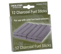Jack Pyke Charcoal Fuel Sticks For Charocal Hand Warmer