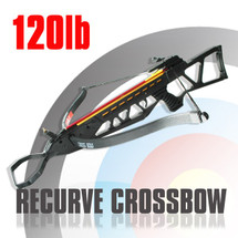Anglo Arms Hornet Crossbow Set 120lb in black