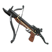 Anglo Arms Cyclone Self Cocking 80 lb Crossbow Pistol in Wood Effect