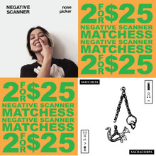 CHICAGO'S FINEST: Negative Scanner / Matchess 2FOR$25 vinyl bundle!