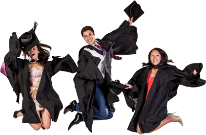 Southern Cross University graduation gowns - purchase instead of hire
