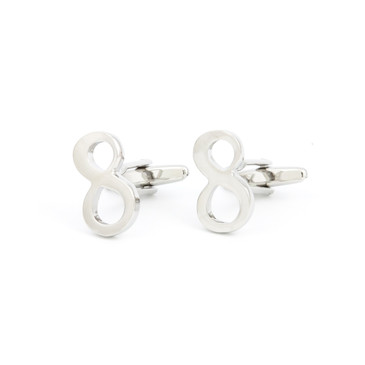 Infinity Cufflinks - main view - University graduation gift