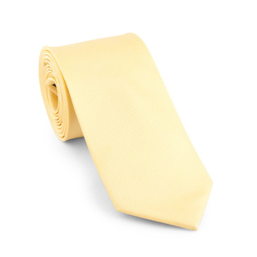 Classic Yellow Necktie - main view - University graduation gift