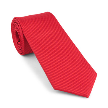 Classic Red Necktie - main view - University graduation gift