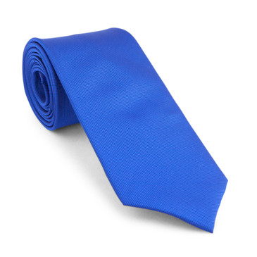 Classic Blue Necktie - main view - University graduation gift