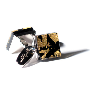 Marmoreo Cufflinks (by Rahul & Anthony) - main view - University graduation gift