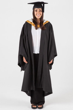 Bachelor Graduation Gown Set for UNSW - Business - Front view