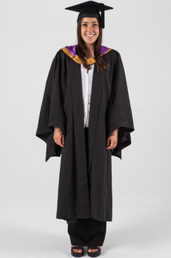 Bachelor Graduation Gown Set for UNSW - Medicine - Front view