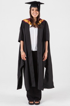 Masters Graduation Gown Set for UNSW - Engineering - Front view