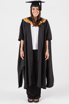 Masters Graduation Gown Set for UNSW - Law - Front view