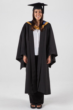 Bachelor Graduation Gown Set for UNSW - Law - Front view
