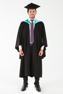 Monash University Bachelor Graduation Gown Set - Business and Economics - Front view
