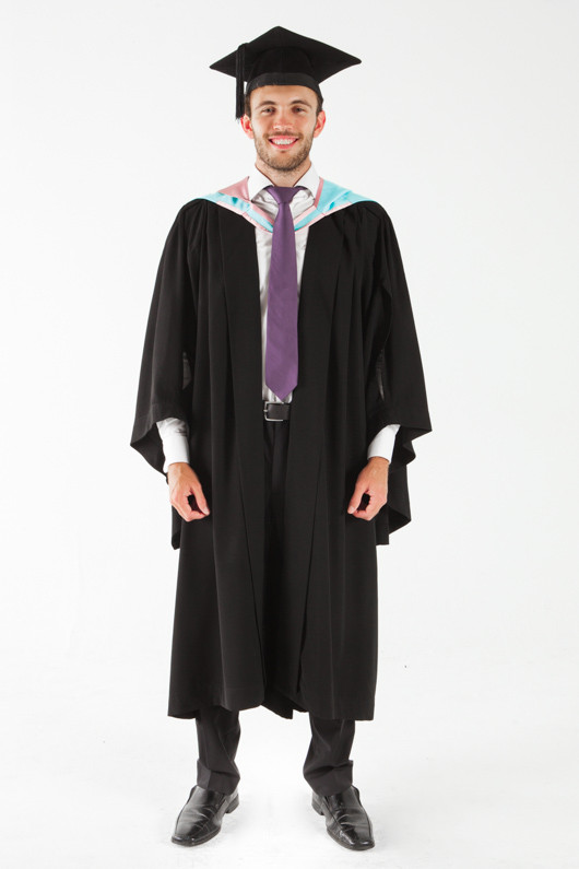 Monash University Bachelor Graduation Gown Set Arts