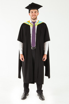 Monash University Masters Graduation Gown Set - Pharmacy and Pharmaceutical Sciences - Front view