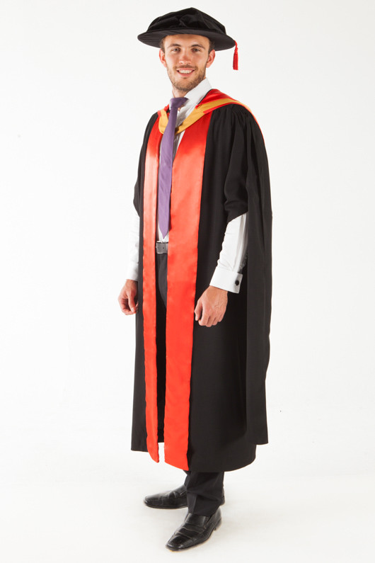 Unsw Doctor Graduation Gown Set Phd Gowntown