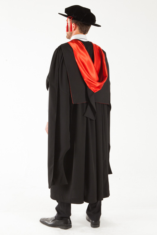 UQ Doctor Graduation Gown Set - PhD | GownTown | Graduation Gowns