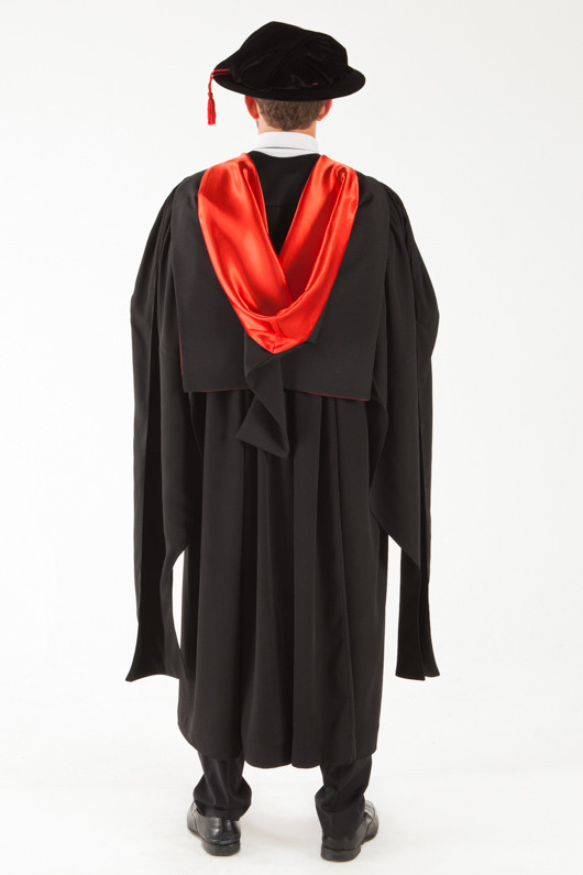 Uq Doctor Graduation Gown Set Phd Gowntown
