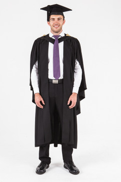 UON Bachelor Graduation Gown Set - Natural and Physical Sciences - Front view