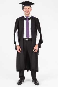 UON Bachelor Graduation Gown Set - Information Technology - Front view