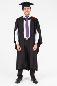 UON Bachelor Graduation Gown Set - Nursing - Front view