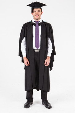 UON Bachelor Graduation Gown Set - Commerce and Economics - Front view