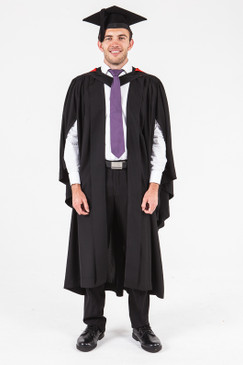 UON Bachelor Graduation Gown Set - Law - Front view